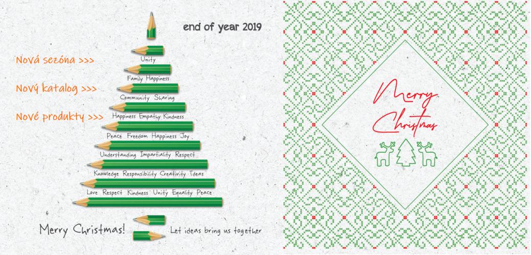 Nový katalog END OF YEAR 2019
