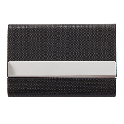 GALLANT gift set with business card case, ballpoint pen, key ring,  black