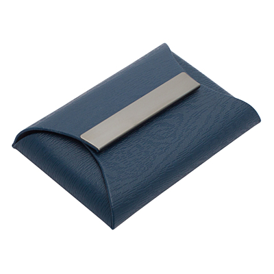 FOLD business card case,  dark blue