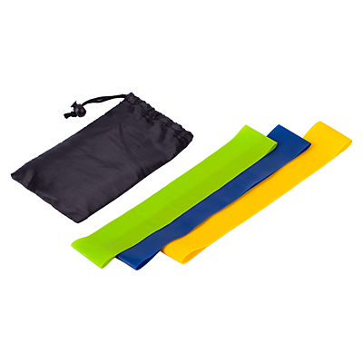FITNESS set of fitness exercise bands, mix