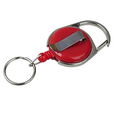 SKI CARABINE skipass tag with clip and carabiner