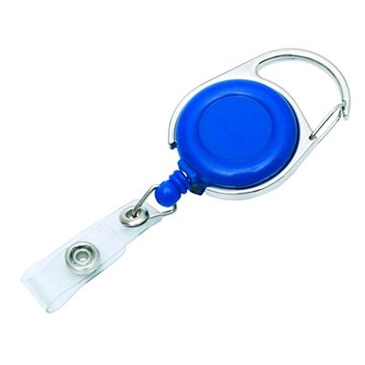 SKI skipass tag with clip and carabiner