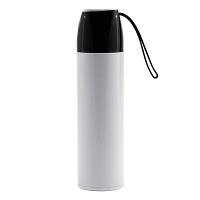 NORTH ICE vacuum flask 430 ml, white