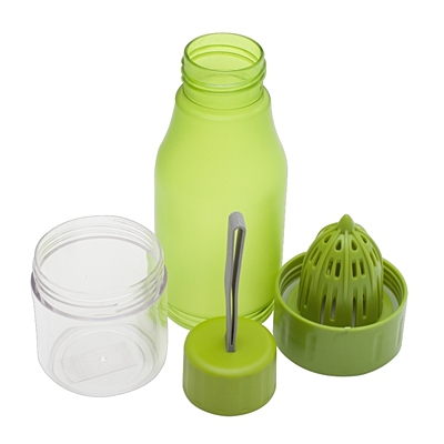DELIGHT sports bottle 600 ml with juicer