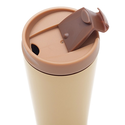 SALLA thermo mug 450 ml,  beige
