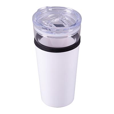 ALPENA thermo mug 400 ml, white