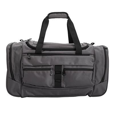 GRAY travel bag,  graphite