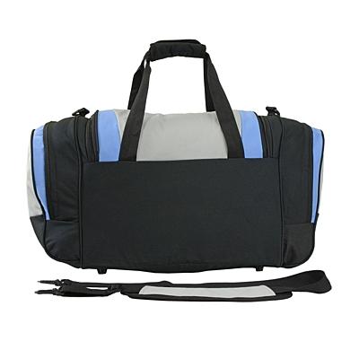 BEND travel bag,  black/light blue