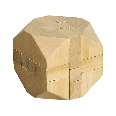 CUBE puzzle,  natural