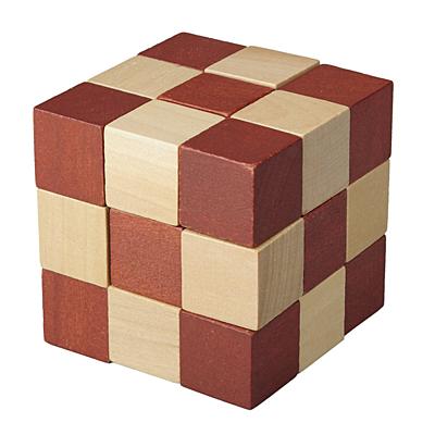 BRAIN SMALL puzzle,  brown