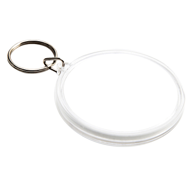 MAZE key ring with the game,  white