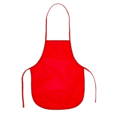 KEEPTIDY apron for children,  red