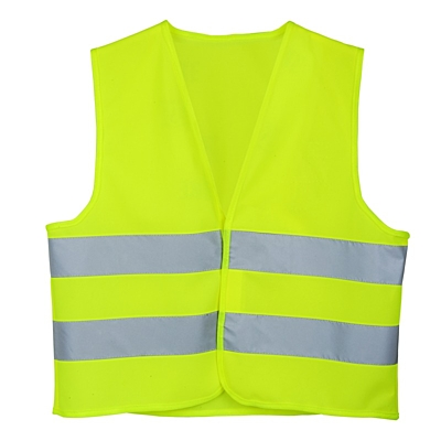 KID REFLECT reflective vest for kids,  yellow
