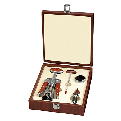 CALAIS wine set,  brown