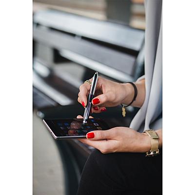LED PEN LIGHT ballpoint pen with LED flashlight and stylus