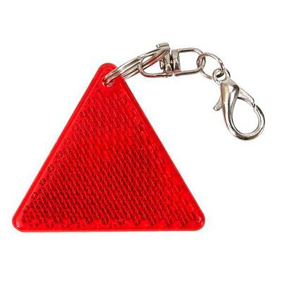SAFE reflective key ring