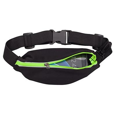 EASE sports kidney bag,  black/light green