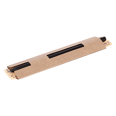 SIMPLE PENCIL set of pencil and ruler, beige