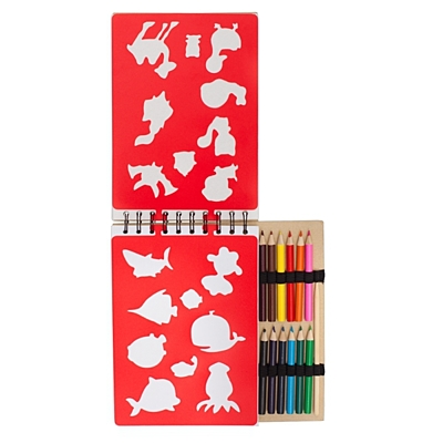 PURE MAGIC drawing set,  beige