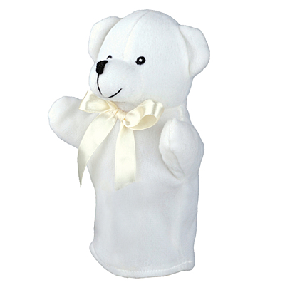 TEDDY BEAR plush hand puppet