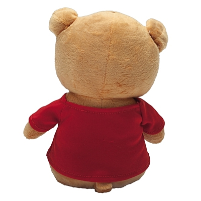 DRESSED plush toy,  brown