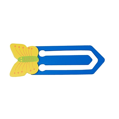BUTTERFLY bookmark,  blue