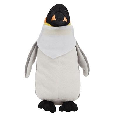 PENGUIN plush toy,  white/grey