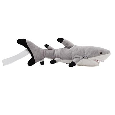 SHARK plush toy,  grey