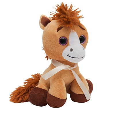 HORSE plush toy,  brown