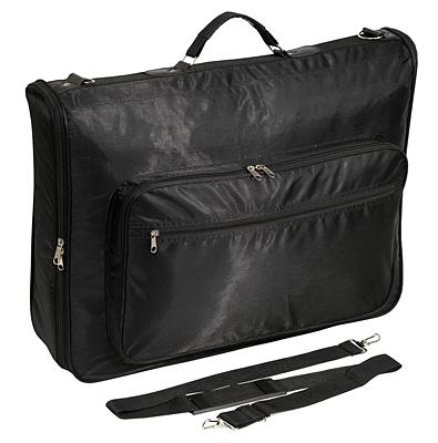 RIVERSIDE garment bag,  black