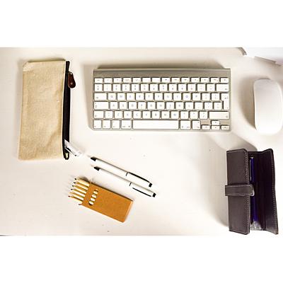 WRITING case for 2 pens,  black