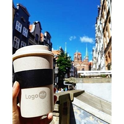 WHEATY 350 ml double wall eco mug