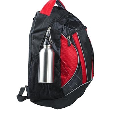 SAFE TRIPPING sports bottle 400 ml,  silver