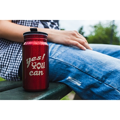 YOU CAN can 400 ml,  red