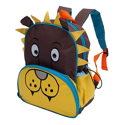 SHAGGY LION baby backpack,  multicolor