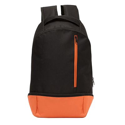 REDDING backpack,  orange/black