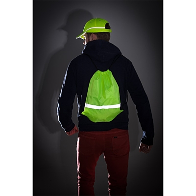 PROMO REFLECT retractable backpack with reflective strap