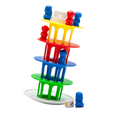 BALANCE TOWER game,  multicolor
