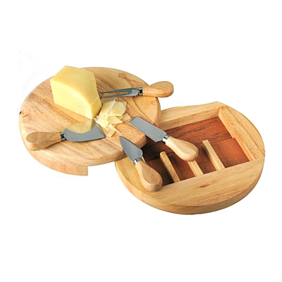 ROMA cheese set,  brown