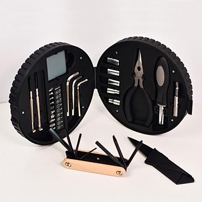 TIRE tool set,  black