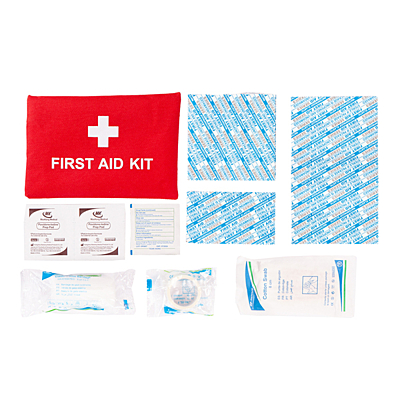 VITAL first aid kit, red
