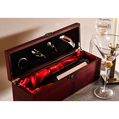 ANGERS wine set,  brown