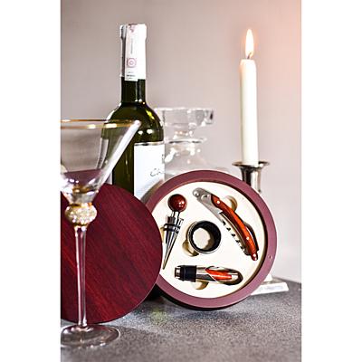 LIMOGES wine set,  maroon