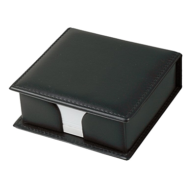 BOX box with paper notes,  black
