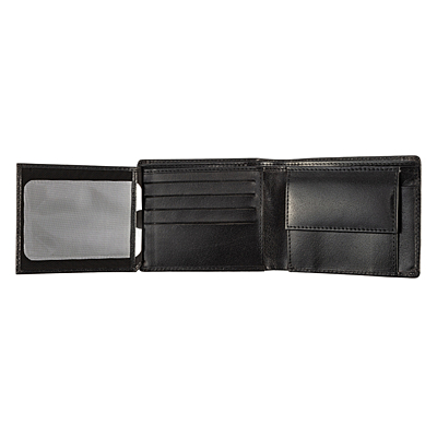 DUKE leather wallet,  black