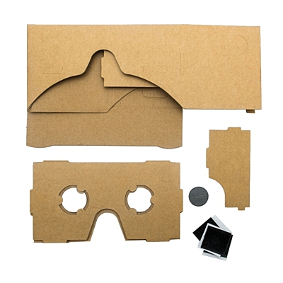 SPECTER virtual reality glasses,  beige