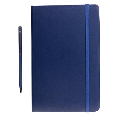 ABRANTES set of scrapbook and ballpoint pen