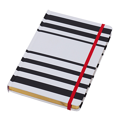 OVIEDO notebook,  white/black