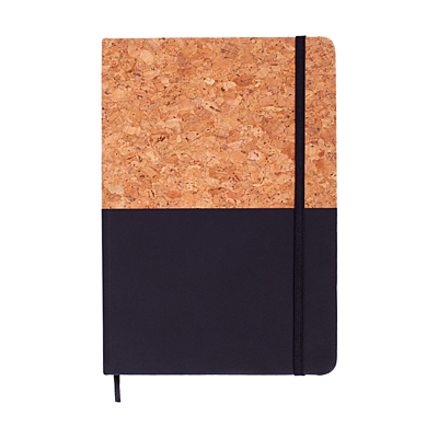 GIRONA notebook with lined pages, 80 pages, black