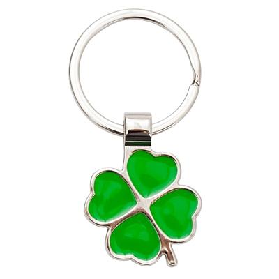 CLOVER LUCK metal key ring